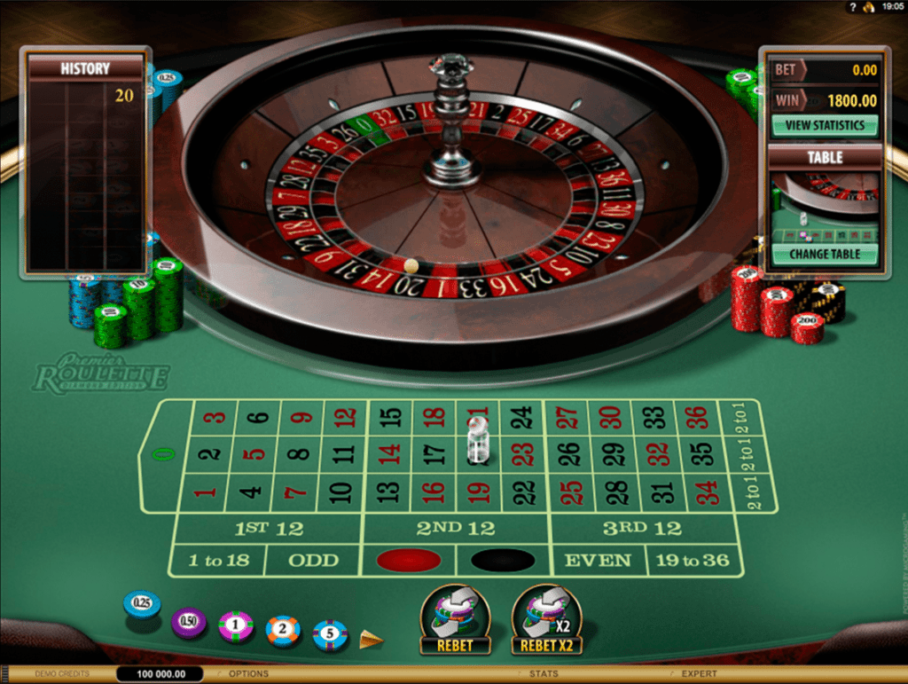 Get a bonus when you play online Roulette