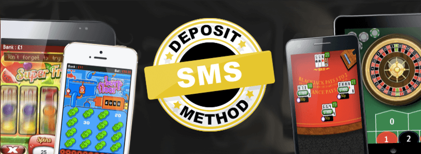 Make an SMS casino deposit today