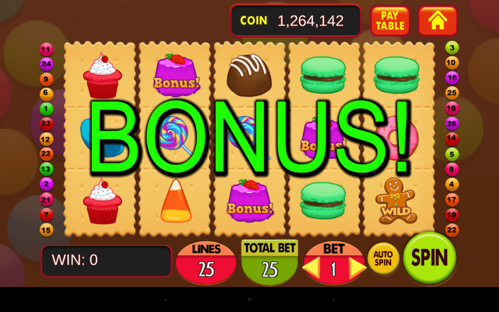 Start things off with a slots bonus