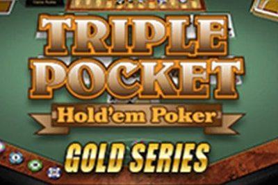 Triple Pocket Hold em Gold