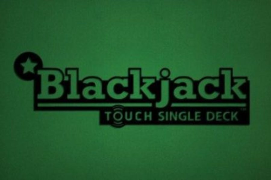 Blackjack Single Deck Touch